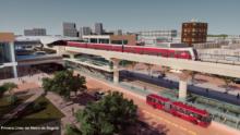 empresas chinas proyecto primer metro de Bogotá