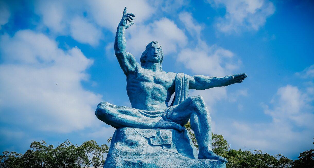 Estatua Parque de la Paz Nagasaki