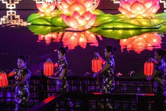 Festival de Medio Otoño en China