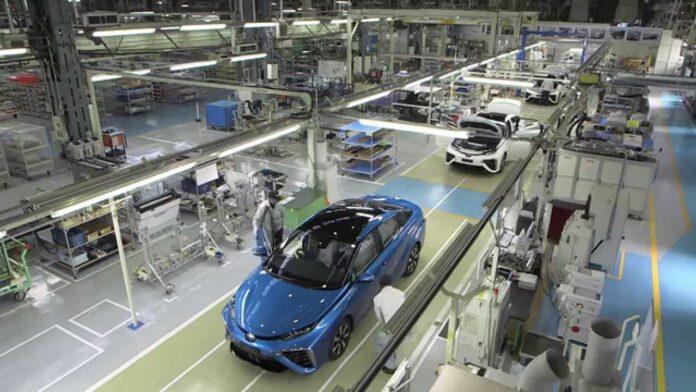 Toyota planta de producción
